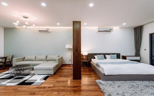 Deluxe three-bedroom serviced apartment Cau Giay, Phung Chi Kien