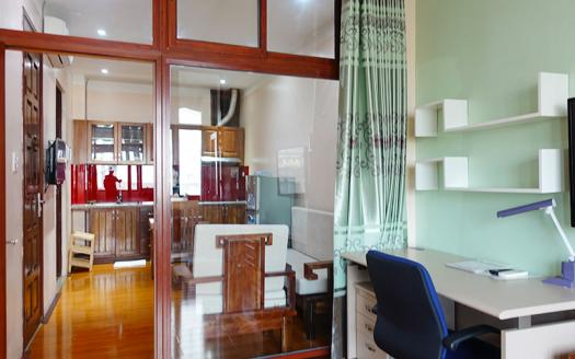 Furnished one-bedroom serviced apartment Cau Giay, Nguyen Phong Sac
