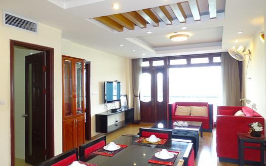 Glorious apartment for rent in Tay Ho, Quang An LA BUILDING
