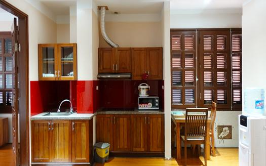 Full-furnished one-bedroom serviced apartment Cau Giay, Nguyen Phong Sac