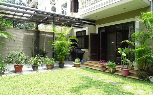 Amazing garden villa, high quality, partly furnished, great landlord in Ciputra for rent