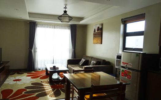 A Cozy one bedroom apartment in Ba Dinh for rent near Lotte Tower