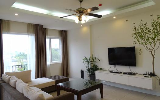 Lively two-bedroom serviced apartment Tay Ho To Ngoc Van