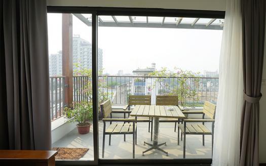 Beautiful Terrace one bedroom apartment Tay Ho area