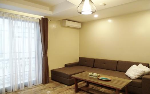 Elegant one- bedroom apartment for rent in Dao Tan, Ba Dinh