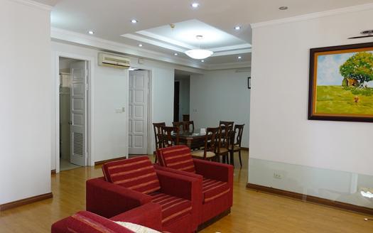 Elegant three-bedroom apartment Ciputra E building, Tay Ho