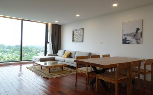 Elegant two-bedroom apartment for rent in Xom Chua, Tay Ho
