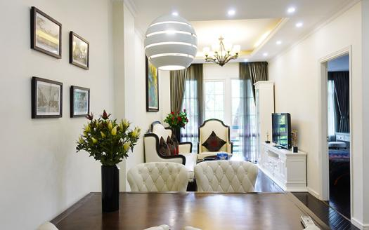 Luxurious apartment Hoan Kiem District with 2 bedrooms and city scape