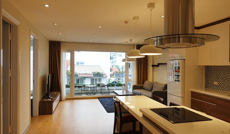Modern 2 bedrooms apartment Tay Ho district with open view balcony
