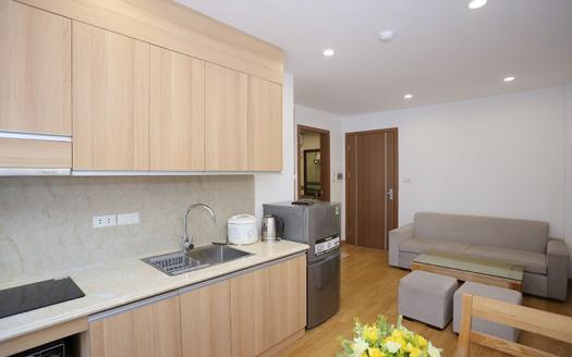 One bedroom serviced apartment Ba Dinh very beautiful with balcony