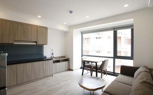 Stunning one bedroom apartment for rent in Cau Giay
