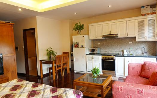 Brandnew one-bedroom studio Dong Da, Kham Thien is ready for renting!