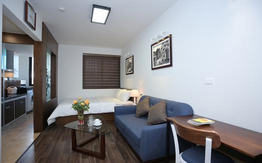 Tidily studio apartment Ba Dinh to rent with many amenities