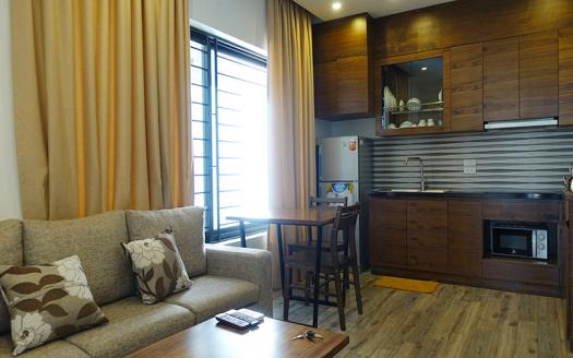 beautiful one-bedroom apartment for rent in Cau Giay