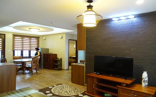 full furnished two-bedroom apartment for rent in Dao Tan, Ba Dinh