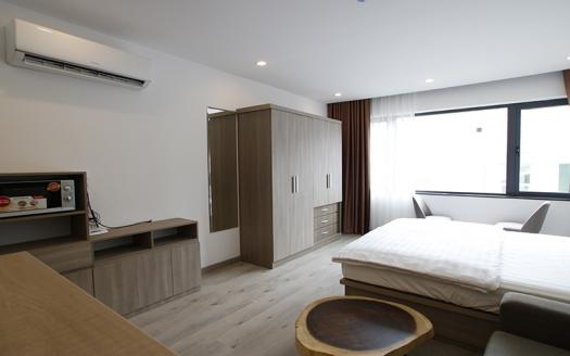 furnished one-bed studio apartment Cau Giay for rent