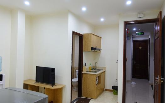 furnished one-bedroom service apartment Cau Giay