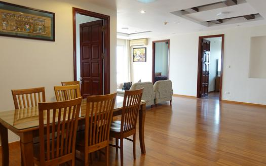 furnished three-bedroom apartment G building Ciputra
