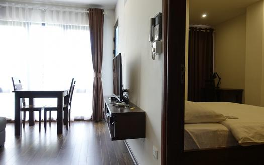 green-view one bedroom apartment for rent in Cau Giay