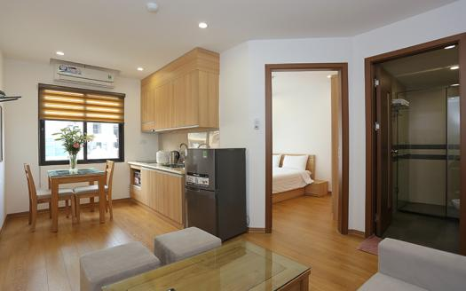 lovely one-bedroom apartment for rent in Ba Dinh
