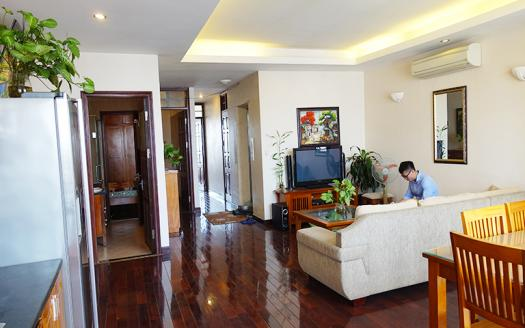Desirable two-bedroom serviced apartment Dong Da, Kham Thien
