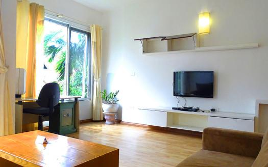 1 bedroom serviced apartment Tay Ho looks elegant