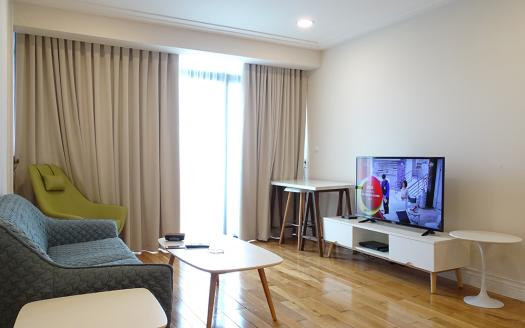 Two-bedroom Apartment Hai Ba Trung Hanoi with good city views for rent