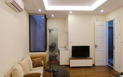 One-bedroom serviced apartment Hai Ba Trung, Ho Ba Mau for rent