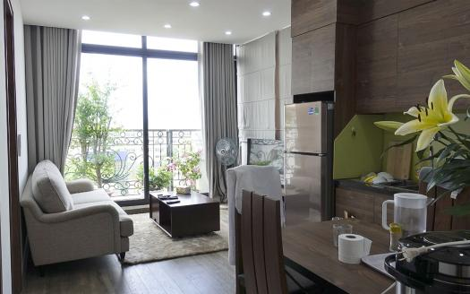 Two-bedroom serviced apartment Hai Ba Trung near Vincom Center