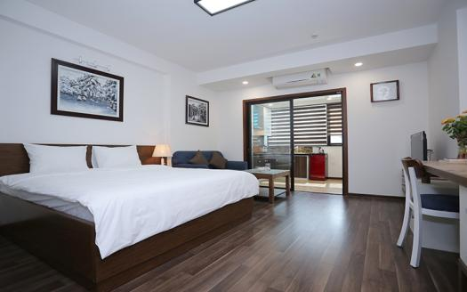 Modern one bedroom apartment Dong Da extremely bright