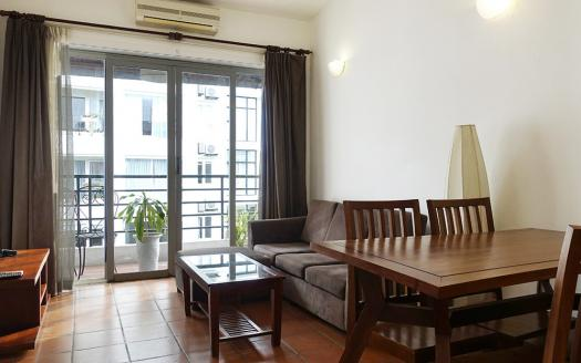 budget two-bedroom serviced apartment Tay Ho Hanoi