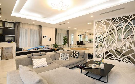 luxurious 3-bedroom villa Hanoi Vinhomes Riverside