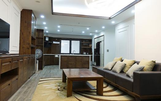 two-bedroom serviced apartment for rent in Hai Ba Trung
