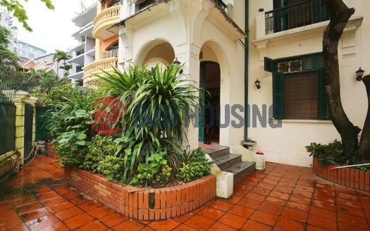 Villa Westlake Hanoi, ancient French style with garden.