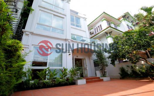 Luxurious villa for rent in Tay Ho, Hanoi | 04-bedroom, contemporary design