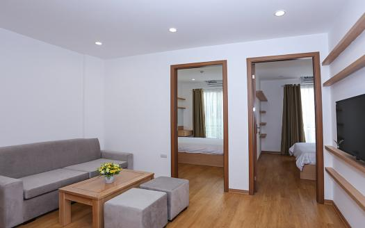 Two-bedroom serviced apartment Ba Dinh, Truc Bach lake