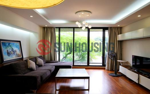 Two bedrooms Ba Dinh apartments Hanoi Truc Bach lake