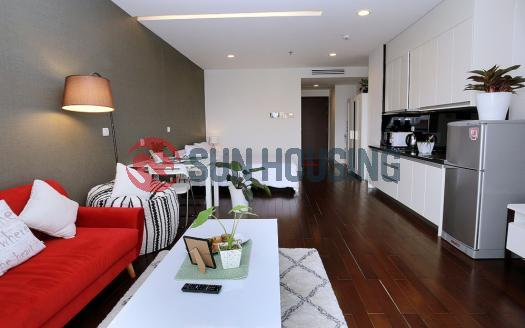 Studio serviced apartment in Lancaster Hanoi | Bright and airy space