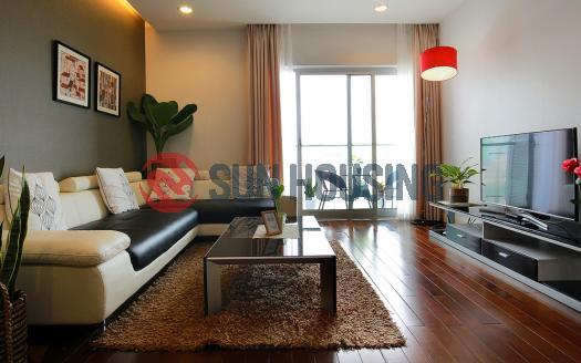 Modern and spacious apartment 3 bedrooms Lancaster Hanoi is ready for rent