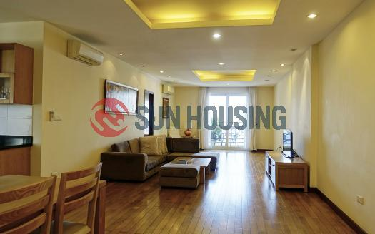 Lovely three bedroom apartment with an open view in Hai Ba Trung Hanoi