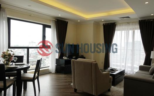 SKYLINE Serviced apartment in Ba Dinh | Bright and airy balcony