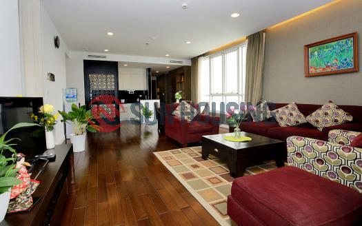 Life-inspiring two-bedroom serviced apartment in Lancaster Hanoi