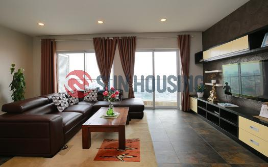 Three-bedroom serviced apartment Golden Westlake Hanoi, fully furnished