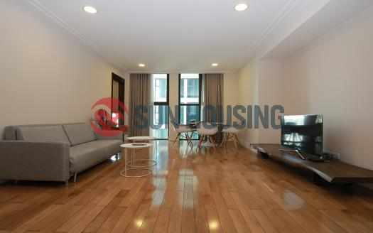Bright and spacious apartment one bedroom Hoang Thanh Hanoi is looking for the new tenants