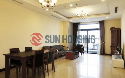03-bed apartment Royal City Hanoi | Balcony with city view