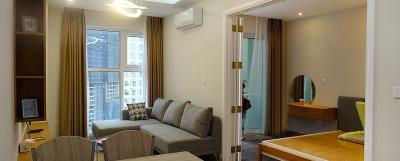 Attractive This Brand New U0026 Modern One Bedroom Apartment L3 Ciputra Hanoi Has A Living  Room,
