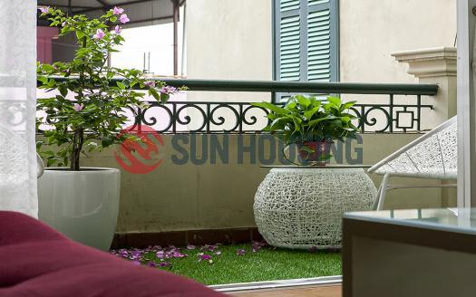 01-bed serviced apartment Truc Bach | Beautiful with balcony