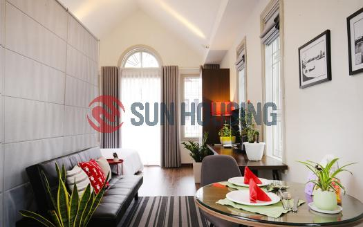 Brand new serviced apartment one bedroom Dong Da Hanoi | Near City Center