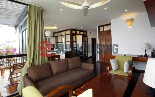 Rent a Tay Ho 2 bedroom apartment with stunning view