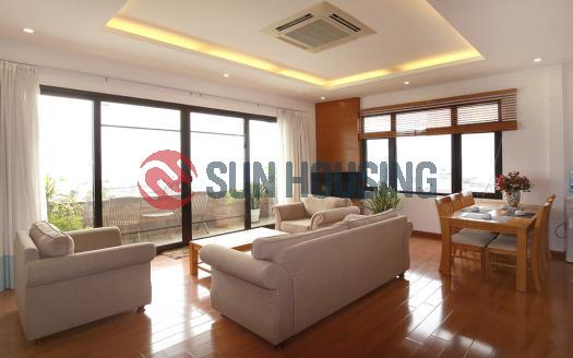 Lake-view 2 bedroom apartment for rent in Tay Ho